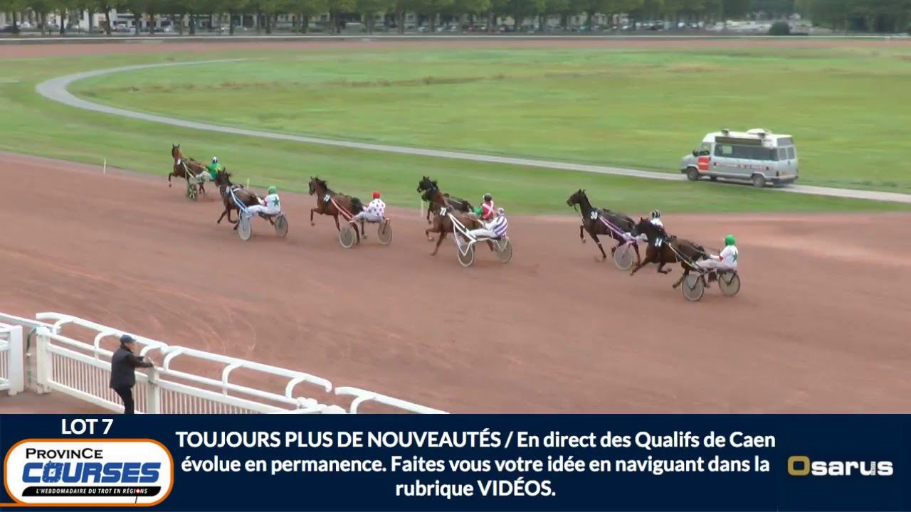Qualifications à Caen, le 13 septembre 2019 (lot 7)