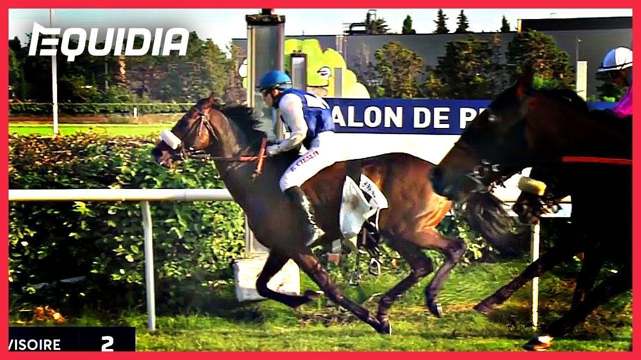 Victoire à cru d'Elaura Cieslik sur First Wood à Salon-de-Provence